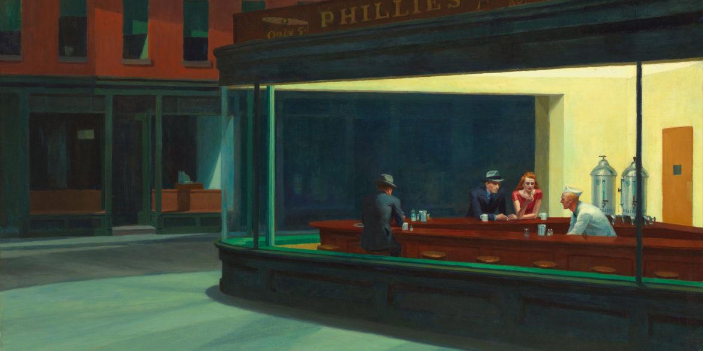 Nighthawks, Edward Hopper (1882–1967)