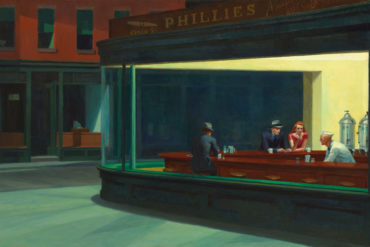 Nighthawks, Edward Hopper (1882–1967)