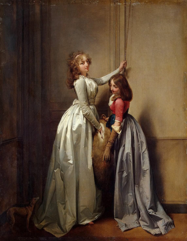 At the Entrance av Louis-Léopold Boilly (1761-1845)